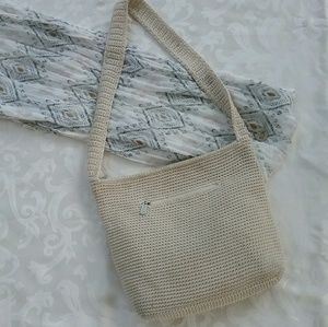 The Sak ivory crocheted purse shoulderbag